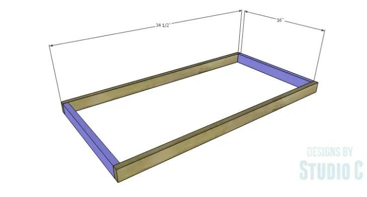DIY Plans to Build a Circle Bookcase_Shelf Frames 1