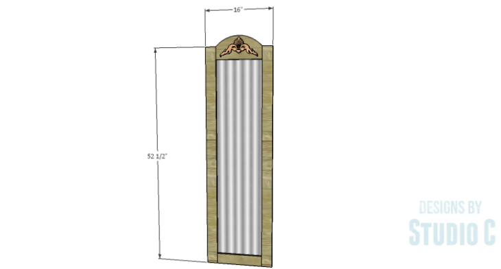 DIY Plans to Build a Dorm Mirror Frame