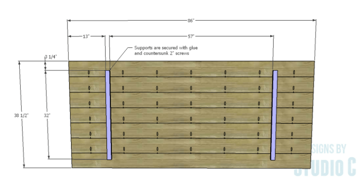 DIY Plans to Build a Griffith Dining Table_Top 1