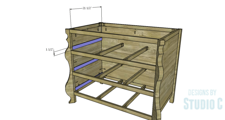 DIY Plans to Build a Raphael Dresser_Drawer Spacers