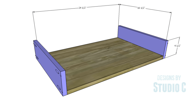 DIY Plans to Build a Scalloped Leg Dresser_Drawer BS