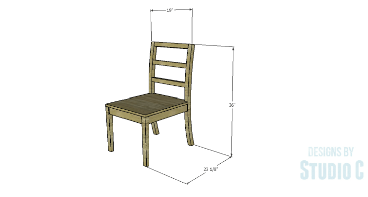 DIY Plans to Build an Anna Chair