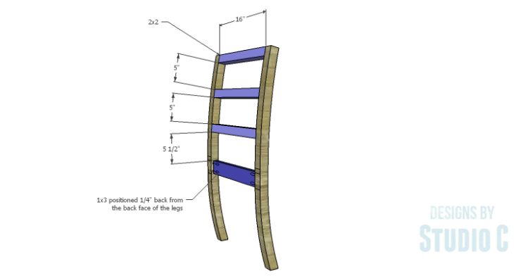 DIY Plans to Build an Anna Chair_Back Framing