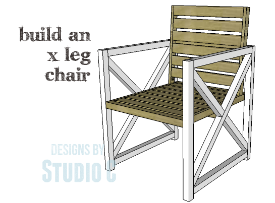 DIY Plans to Build an X Leg Chair_Copy