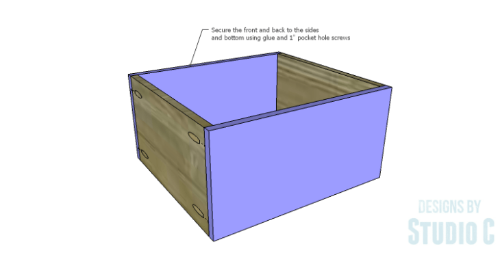 DIY Plans to Build a Gabriela Dresser_Drawer FB