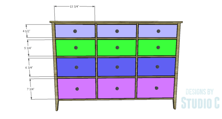 DIY Plans to Build a Gabriela Dresser_Drawer Fronts
