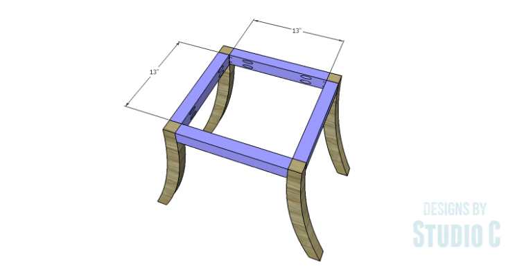 DIY Plans to Build a Pi Footstool_Framing