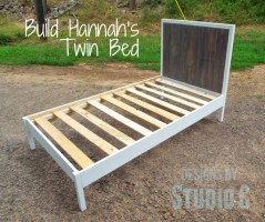 A Fabulous Modern Twin Bed