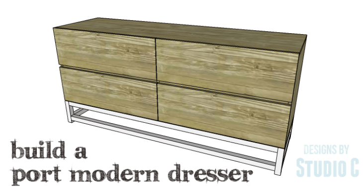 DIY Plans to Build a Port Modern Dresser_Copy