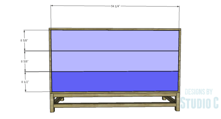 DIY Plans to Build a Sterling Dresser_Drawer Fronts