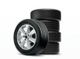 Sam's Club Dare to Compare All-In Tire Offer_Tires Stacked
