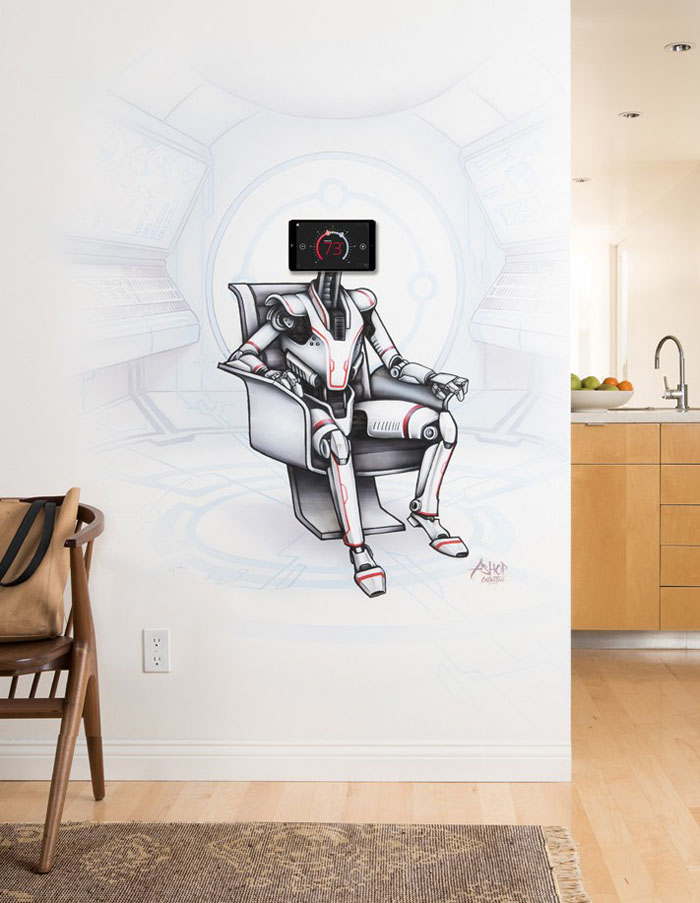 Lennox Introduces the iComfort® S30 with the Art World_Mural