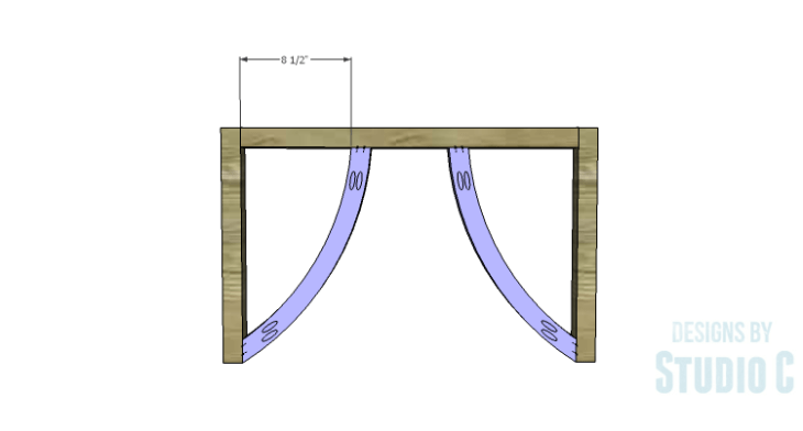 DIY Plans to Build a Curved Base Coffee Table_Side 1_2