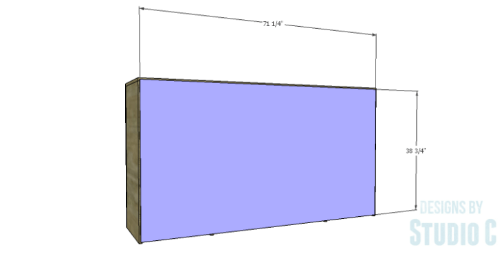 DIY Plans to Build a Hanson Media Console_Back
