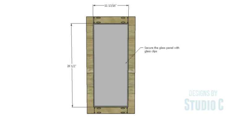 DIY Plans to Build a Hanson Media Console_Center Doors 2