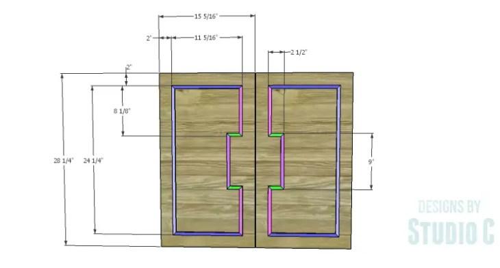 DIY Plans to Build a Trim Detail Cabinet_Doors 1