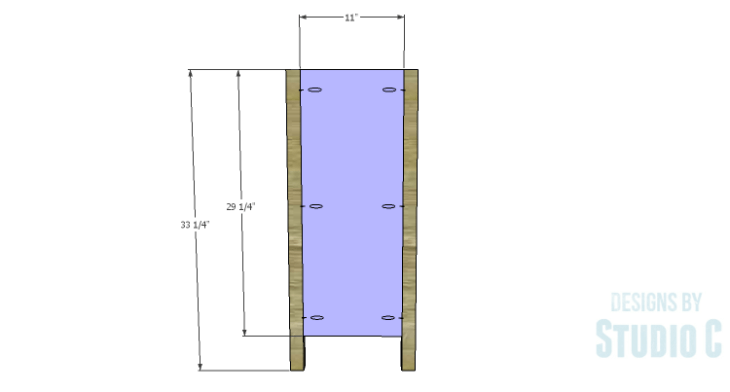 DIY Plans to Build a Trim Detail Cabinet_Sides