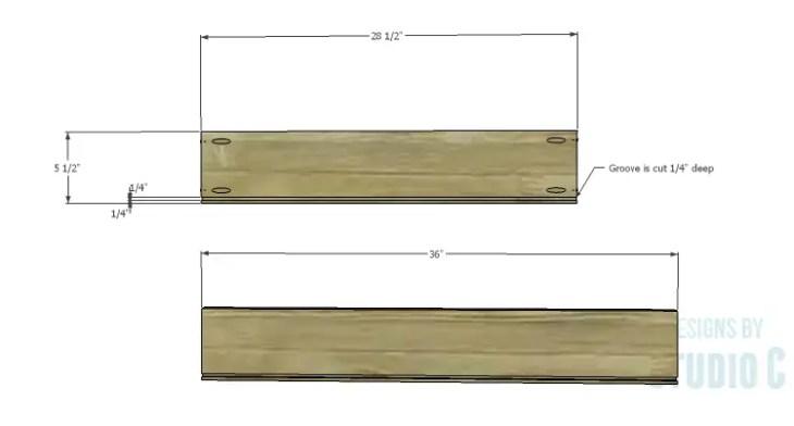 DIY Plans to Build Rolling Under-Bed Storage Boxes_Sides & Back 1