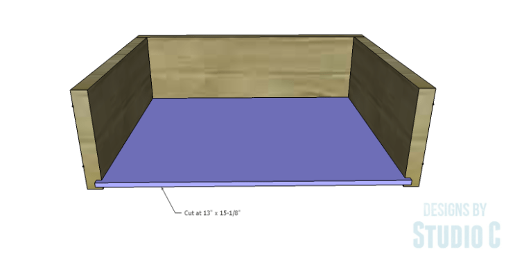DIY Plans to Build a Carey Kitchen Island_Drawer Box 3