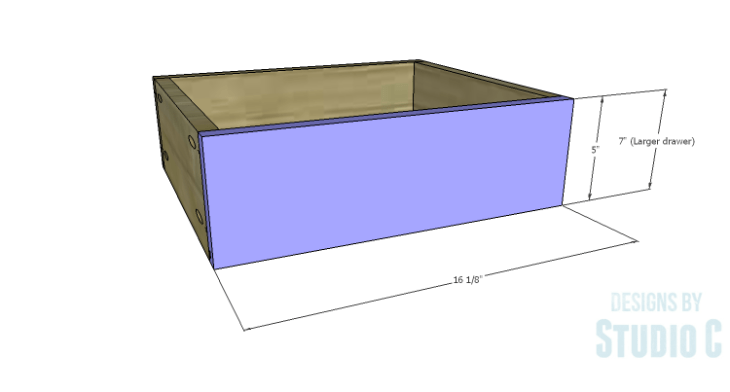 DIY Plans to Build a Carey Kitchen Island_Drawer Box 4