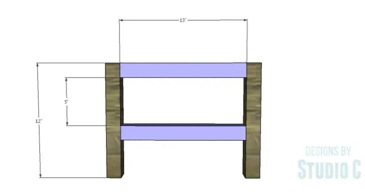 DIY Plans to Build a Caroline Buffet_Base Sides