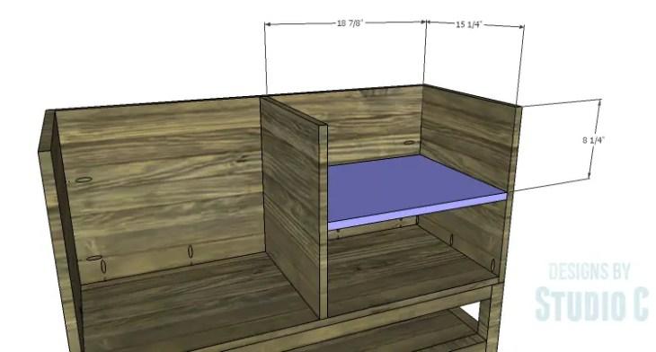 DIY Plans to Build a Caroline Buffet_Shelves 1