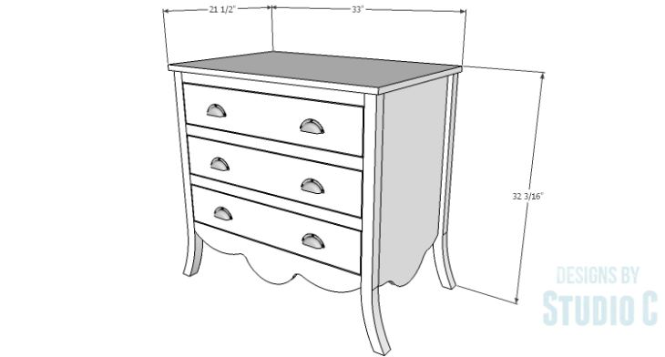 DIY Plans to Build a Celia Dresser