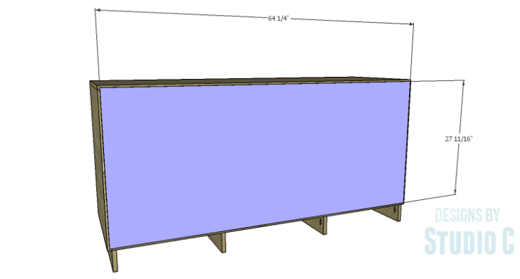 DIY Plans to Build a Mayweather Dresser_Back
