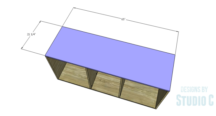 DIY Plans to Build a Mayweather Dresser_Top