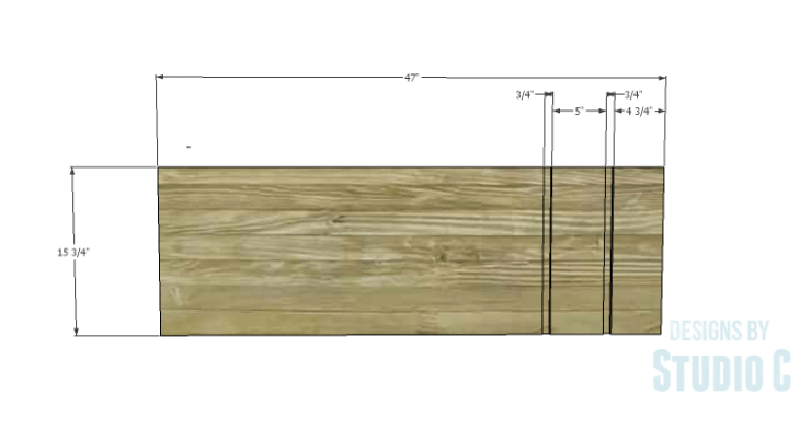 DIY Plans to Build a Mid Century Modern Cabinet_Bottom