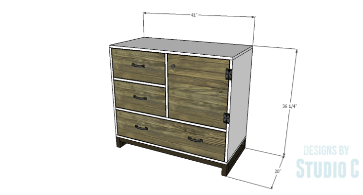 DIY Plans to Build a Carson Cabinet