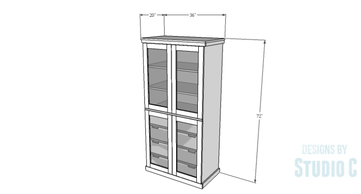 DIY Plans to Build a Country Pantry