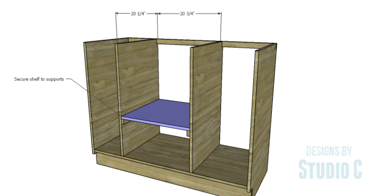 DIY Plans to Build a Bath Vanity with a Built-In Clothes Hamper_Shelf