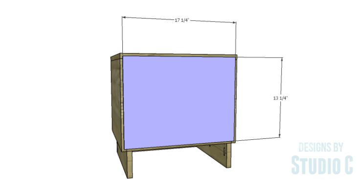 DIY Plans to Build a Mayweather Nightstand_Back