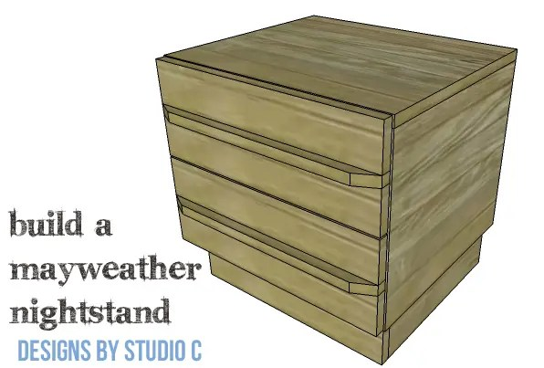 DIY Plans to Build a Mayweather Nightstand_Copy