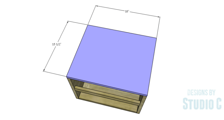 DIY Plans to Build a Mayweather Nightstand_Top