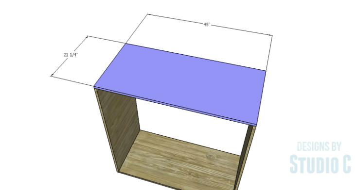 DIY Plans to Build a Mayweather Tall Dresser_Top