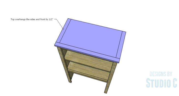 DIY Plans to Build a Tall Cabinet Hutch-Top 2