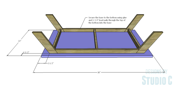 DIY Plans to Build a Brady Coffee Table-Bottom
