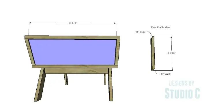DIY Plans to Build a Brady Coffee Table-Door