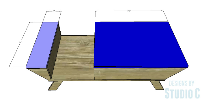 DIY Plans to Build a Brady Coffee Table-Tops