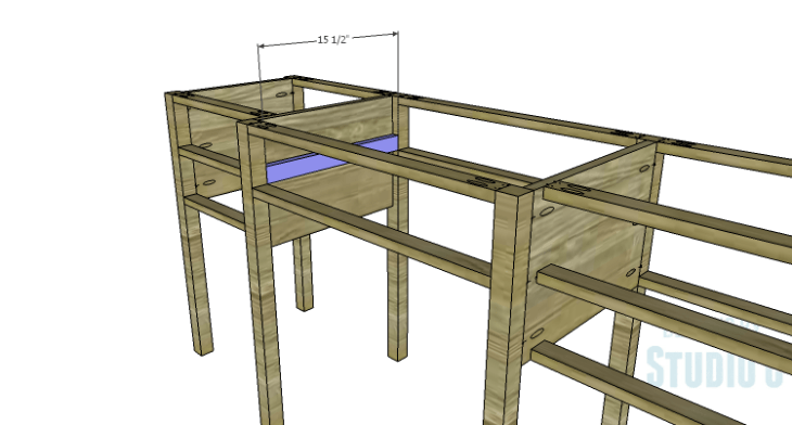 DIY Plans to Build a Brantley Desk-Drawer Slide Spacers