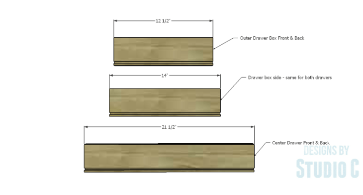DIY Plans to Build a Brantley Desk-Outer Drawers 1