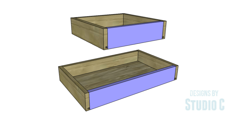 DIY Plans to Build a Brantley Desk-Outer Drawers 4