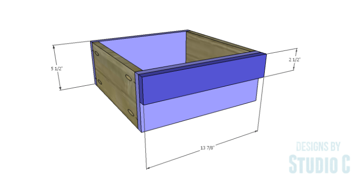 DIY Plans to Build a Cate Chest-Drawer 2