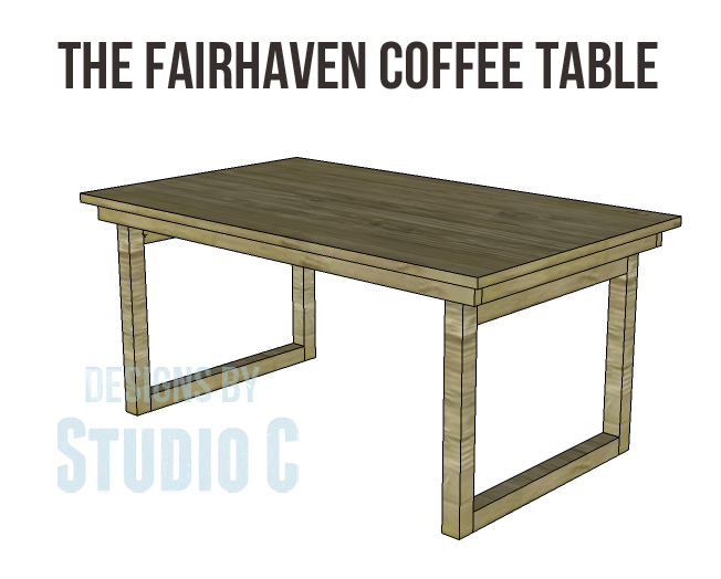 A super duper easy coffee table to build for Easy to build coffee table