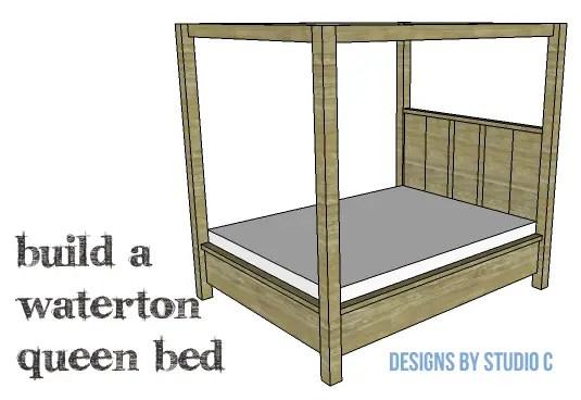 DIY Plans to Build a Waterton Queen Bed-Copy