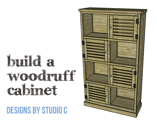DIY Plans to Build a Woodruff Cabinet-Copy