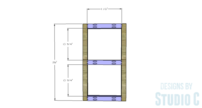 DIY Plans to Build a Grady Console Table-Side Frames