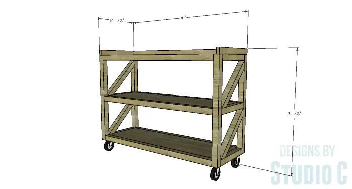 DIY Plans To Build A Grady Console Table
